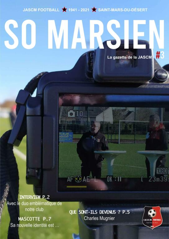 SO MARSIEN #3 - La gazette de la JASCM Football